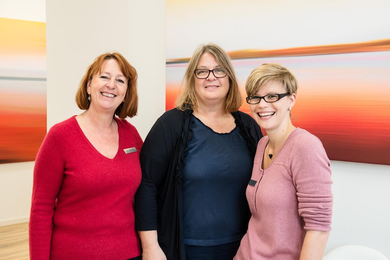 Team (die drei Damen)